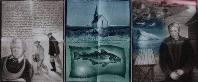 David Blackwood, 'Notes from Bragg's Island', 1992