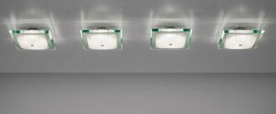 Fontana Arte, 'Set of four ceiling lights, model no. 1990', 1960s
