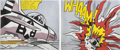 Roy Lichtenstein, 'Whaam! (diptych)', 1967