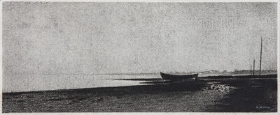 Gunnar Norrman, 'Bat pa Stranden', 1957