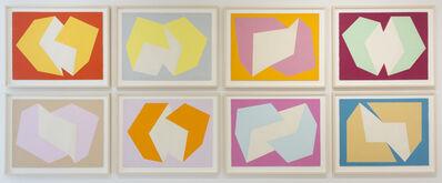 Charles Hinman, 'Print Study', 1974