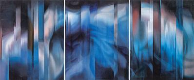 Leo WANG, 'Composition en Indigo', 2014