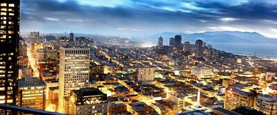 David Drebin, 'San Francisco Dusk', 2010