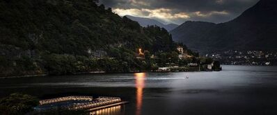 David Drebin, 'Lake Como Lights', 2012