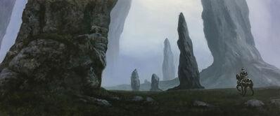 Rob Alexander, 'Knight's Quest', 2018