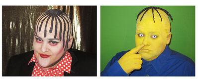 Jaimie Warren, 'Self-portrait as Boy George/Self-Portrait as Ralph Wiggum in Boy George Totally Looks Like Ralph Wiggum by eagles97 (TotallyLooksLike.com Series)', 2014