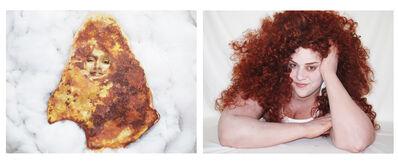 Jaimie Warren, 'Self-portrait as Grilled Cheese Virgin Mary / Self-portrait as Bernadette Peters in Grilled Cheese Virgin Mary Totally Looks Like Bernadette Peters by caspmct', 2012