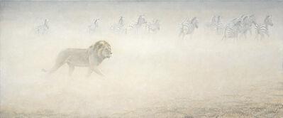 Robert Bateman, 'Zebras', 2000