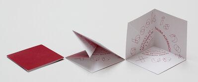 Tauba Auerbach, 'Pop-up Invitation', 2013