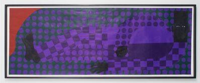 Jon Key, 'Man In The Violet Dreamscape No. 3', 2018