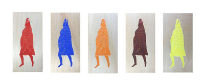 June Glasson, 'The Eagle Ladies III', 2019