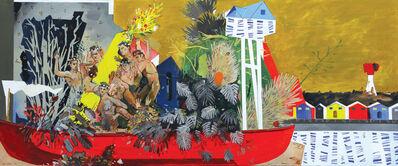 Chris Denovan, 'Raising the Monument to the Flaming Bouquet', 2020