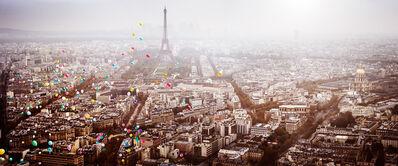 David Drebin, 'Balloons Over Paris', 2016