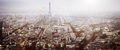 David Drebin, 'Balloons Over Paris', 2016