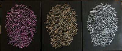Brendan Murphy, 'Fingerprint Triptych', 2018