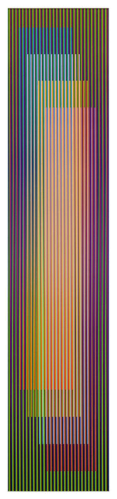 Carlos Cruz-Diez, 'Color aditivo serie larga Panam 3', 2011
