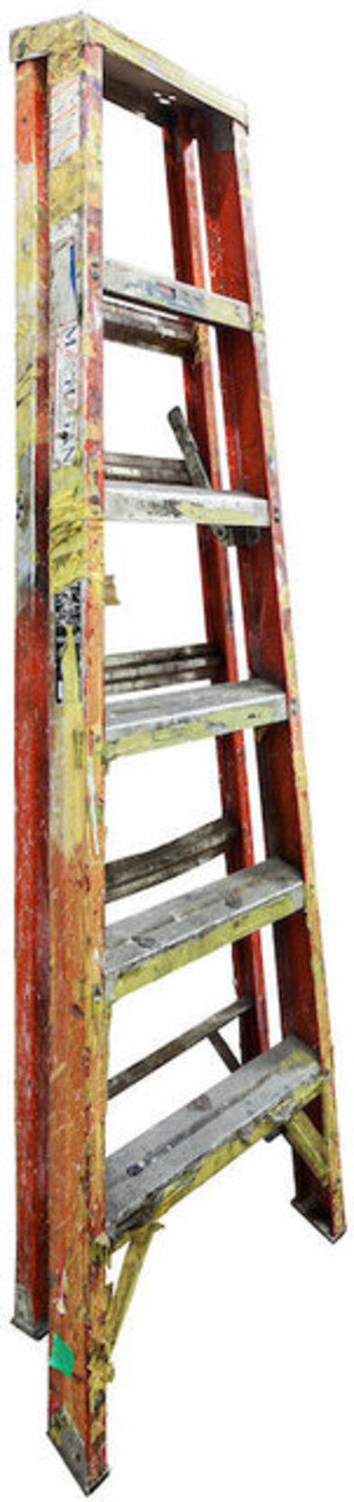 Jennifer Williams, 'Medium Folding Ladder: Orange with Silver Top and Paint', 2014