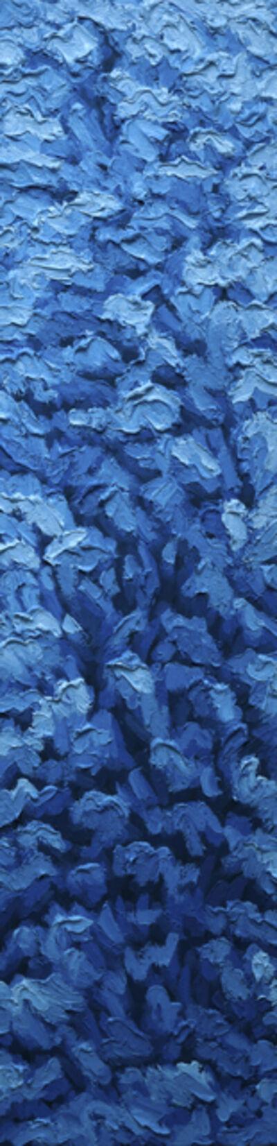 """Brent Estabrook, '""""Furry Bits Blue""""', 2020"""