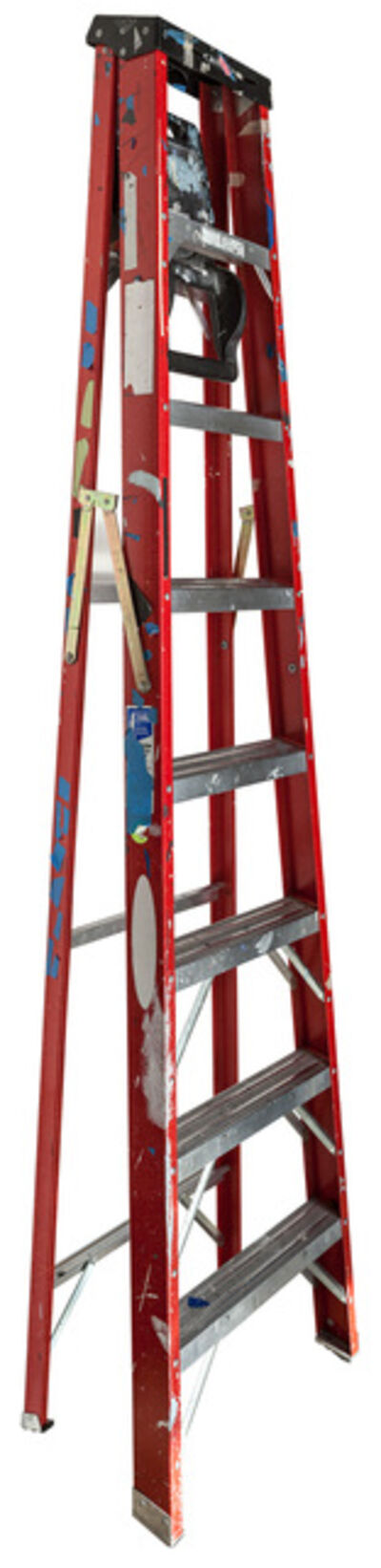 Jennifer Williams, 'Large Folding Ladder: Red with Black Top and Tape', 2014