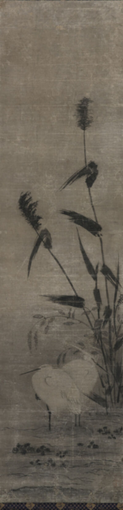 Yamaguchi Sekkei, 'Two Herons', 1644-1732