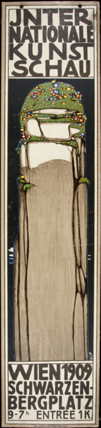 "Berthold Löffler, 'Poster for the International ""Kunstschau,"" Vienna', 1909"