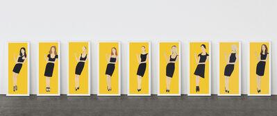 Alex Katz, 'Black Dress (Portfolio of 9)', 2015