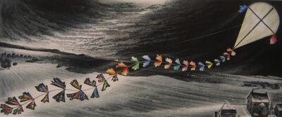 David Blackwood, 'March Kite', 1986