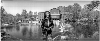 Al Satterwhite, 'Loretta Lynn in her small town of Hurricane Mills, TN', 1973