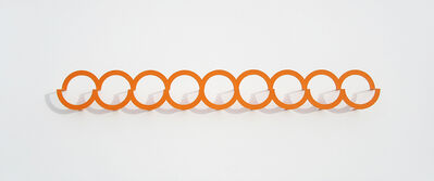 Emi Ozawa, 'Nine Orange Circles', 2018