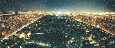 David Drebin, 'Central Park (Diamond Dust)', 2020