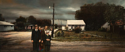 Guy Johnson, 'Portrait Of My Father With Approaching Storm', 1990