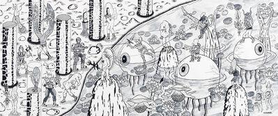 Motohiro Hayakawa, 'Battle Large 3', 2019