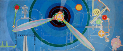 Sonia Delaunay, 'Propeller (Air Pavilion)', 1937