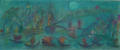 Alice Rahon, 'Ciudad a la luz de la luna', 1948