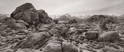 Jay Dusard, 'Alabama Hills and Sierra Nevada, California', 1992
