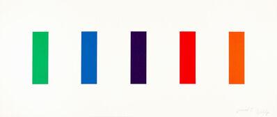 Ellsworth Kelly, 'Color Panels', 2011