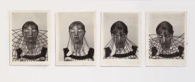 Annegret Soltau, 'm Netz (Selbst) 3 + 4 — ausströmen 1 + 2 (In a net (self) 3+4 — escape 1+2)', 1947
