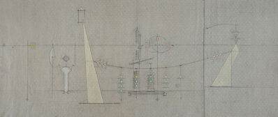 Edwin Tanner, '(Engineering drawing)', ca. 1953