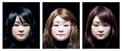 Tomoko Sawada, 'SET #65; [three framed photographs]', 2015