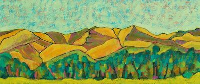 K.L. McKenna, 'Wyoming Hills', 2015