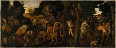 Piero di Cosimo, 'A Hunting Scene', ca. 1494–1500