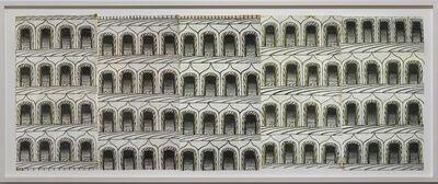 Martín Ramírez, 'Untitled (Arches, 5 Panels)', 1960-1963