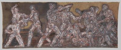 Leon Golub, 'Gigantomachy II', 1966