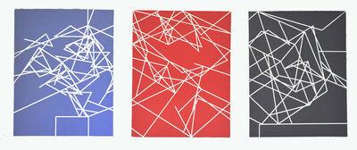 Clifford Singer, 'Hypercube Paintings (Set of 3)', 1978