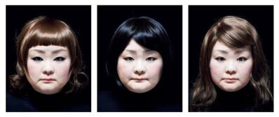 Tomoko Sawada, ' SET #100 from the series Facial Signature', 2015