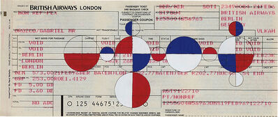 Gabriel Orozco, 'Ticket - British Airways', 2001