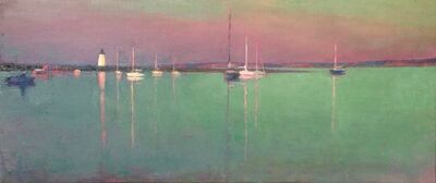 Larry Horowitz, 'Edgartown Harbor Evening', 2017