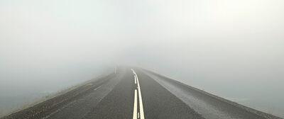 JOSÉ MARÍA MELLADO, 'Carretera en la Niebla', 2012