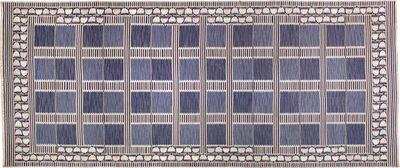 Barbro Nilsson, 'Unique 'Hantverkets matta' rug, from the boardroom of Stockholms stads hantverksförening, The Craftsmen's House, Brunkebergstorg, Stockholm', designed and executed 1947