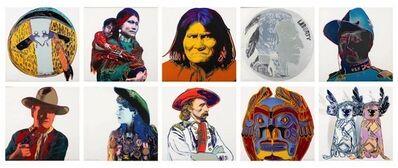 Andy Warhol, 'Cowboys & Indians (F&S II. 377-386)', 1986